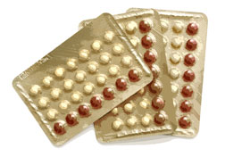 photo of birth control pills